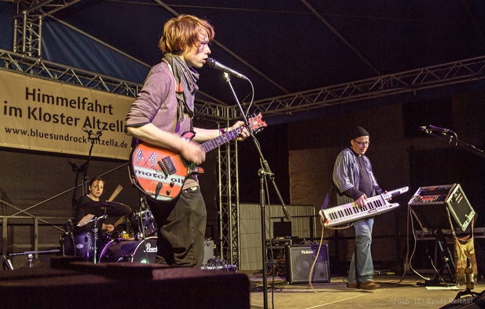 Andi Valandi & Band auf dem 14. Int. Blues & Rock Festival Altzella (Foto: Sandy Reichel)