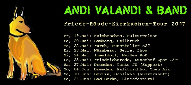 Andi Valandi & Band - Tour 2017