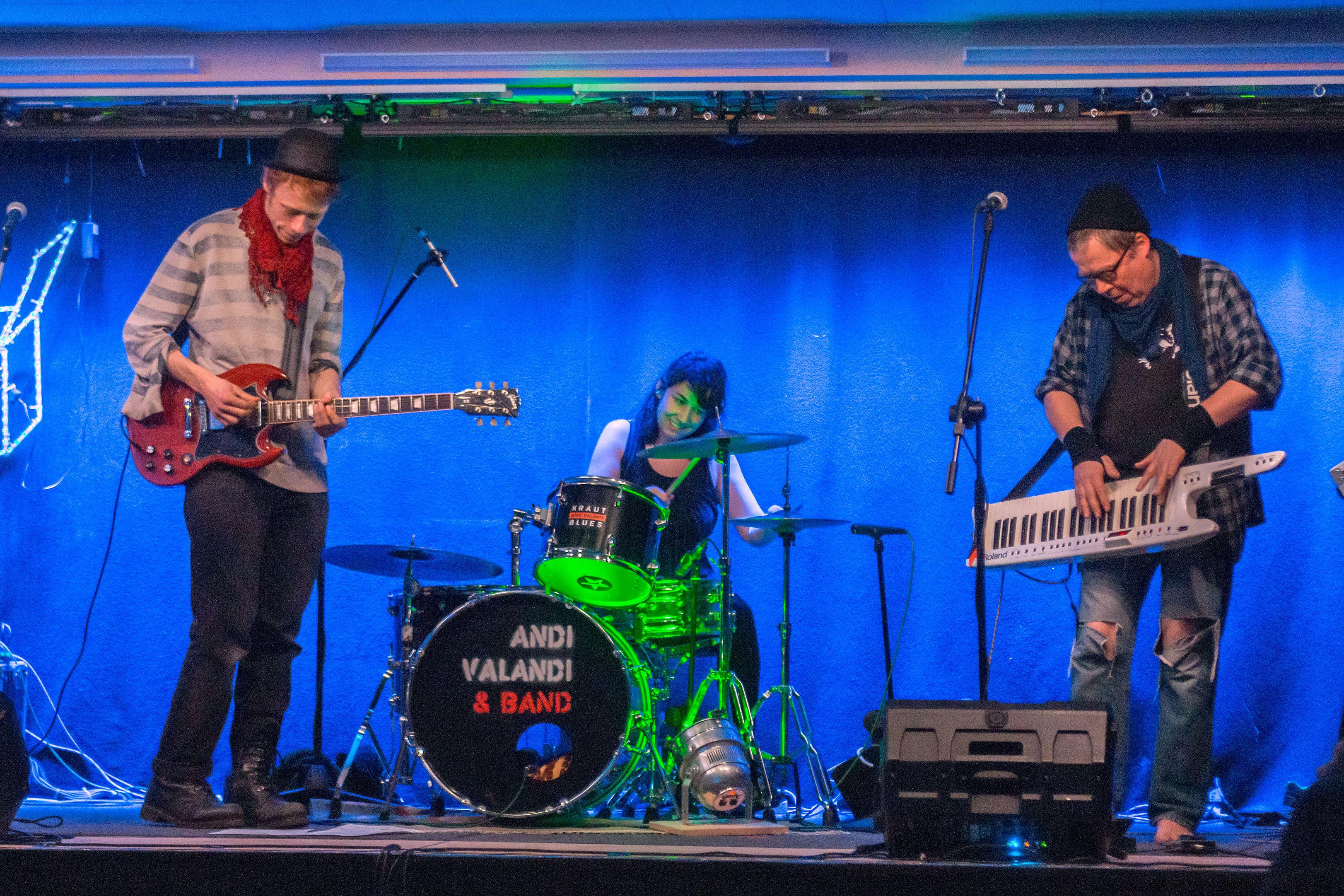 Andi Valandi und Band, Foto: Sandy Reichel