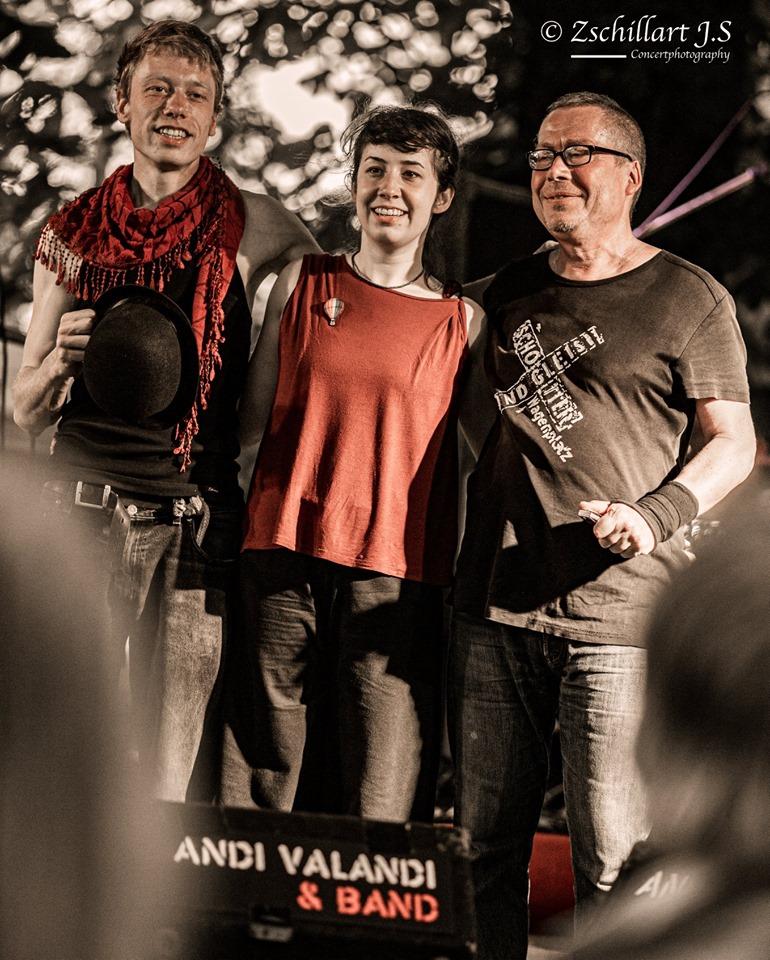Andi Valandi und Band, Foto: Zschillart J.S