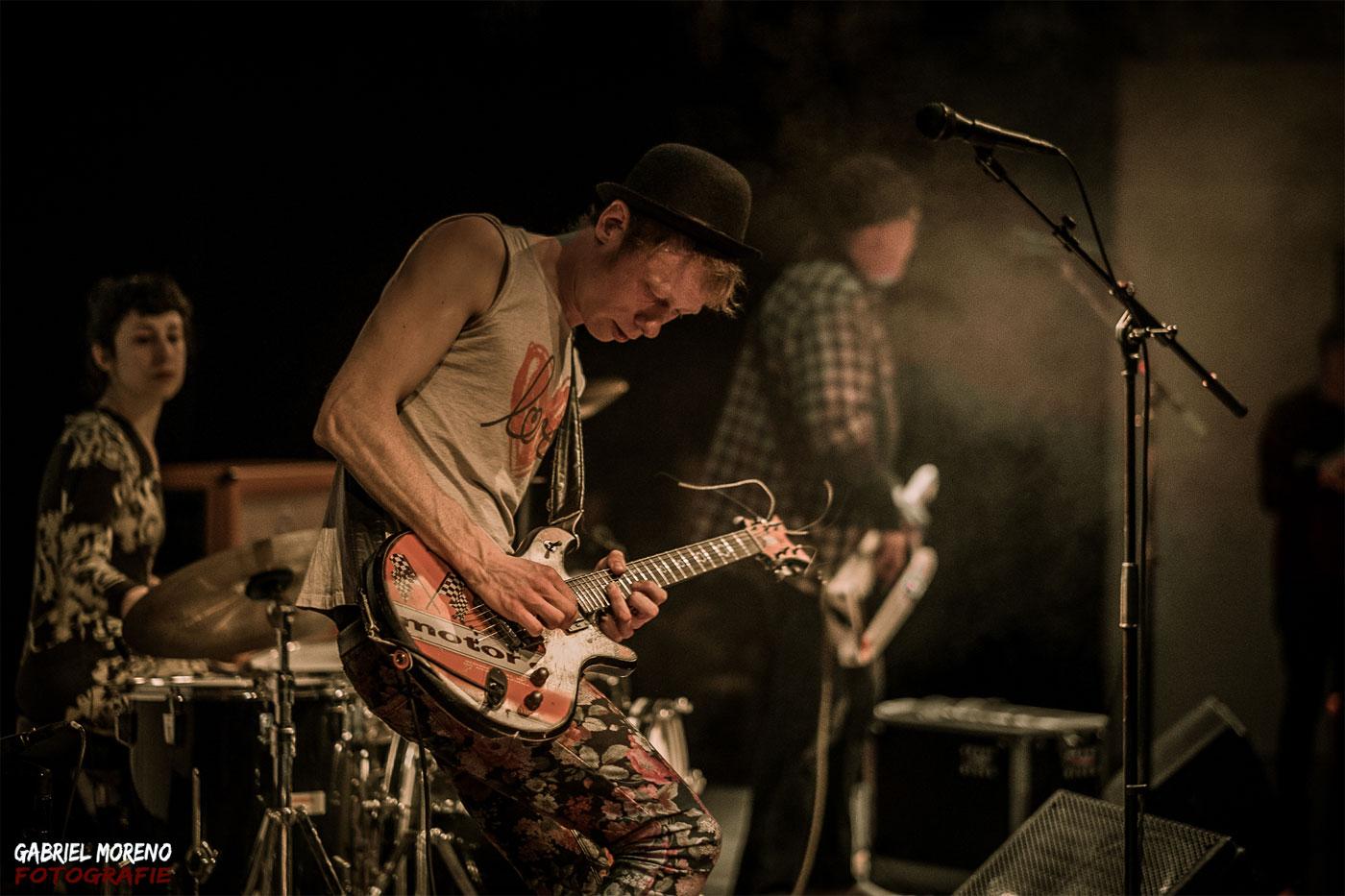 Andi Valandi und Band, Foto: Gabriel Moreno